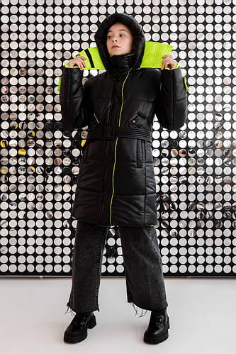 Детская куртка зимняя для девочки №24 | на рост 140-170р.