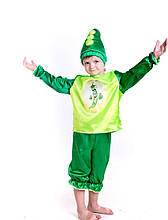 Костюм гороха, детский карнавальный костюм Горох, костюм Фасоли