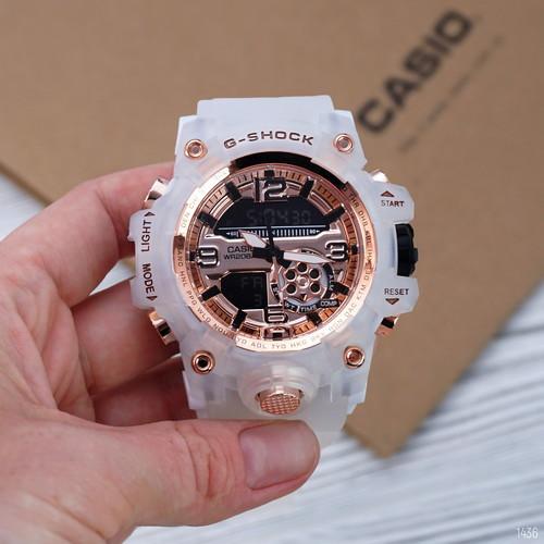 Наручные часы Касио джи шок G-Shock GG-1000 White-Cuprum