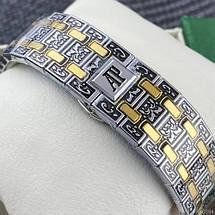 Audemars Piguet Royal Oak  Pattern Silver-Gold, фото 2