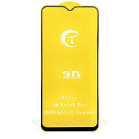 Защитное стекло 9D для Xiaomi Redmi Note 8 Pro черное (на сяоми редми нот 8 про, ксиоми ноут 8 про ксяоми)