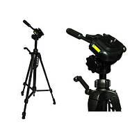 Штатив для цифрової камери 59-153см Weifeng WT-3730 (трипод, Tripod)