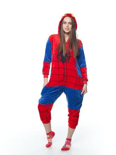 Пижама - кигуруми спайдермен S 145-155 см рост