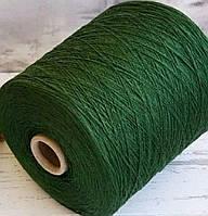 Пряжа Меринос 100%,Safil зеленый, фото 1