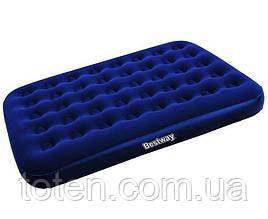 Матрас надувной полуторный Bestway 67002 (размеры 191x137x22 см) Максимальная нагрузка: 150 кг.