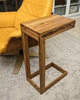 Приставной стол из натурального дуба