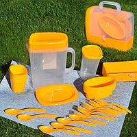 Столовый набор для пикника Bita 35 предметов (R30214)
