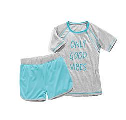 Спортивный костюм футболка и шорты Crane 122-128 см Серый 2333129723331280, КОД: 1641532