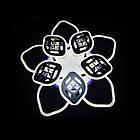 Светодиодная LED люстра СветМира 165 Вт с подсветкой и регулировкой яркости LS-7123/5+5, фото 3