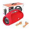 Портативная Bluetooth колонка Boombox 40 Вт, жбл бумбокс (люкс копия) Красный, фото 2