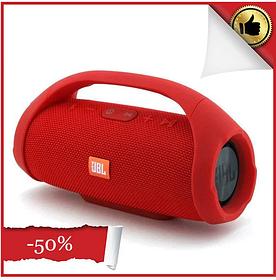 Портативная Bluetooth колонка Boombox 40 Вт, жбл бумбокс (люкс копия) Красный