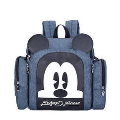 Рюкзак-кресло для мам Disney Mommy Bag Mickey Mouse Синий, КОД: 1586701