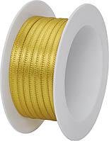 Атласная лента Stewo 3 мм х 5 м Золотистый 2583410080, КОД: 1473772