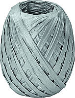 Бумажная лента Stewo рафия 7 мм х 30 м Серебристый 2583413875, КОД: 1473785