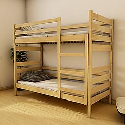 Кровать двухъярусная деревянная Амели (массив бука)