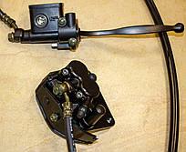 LX200GY-3 Pruss Гальмівна система передня, шланг гальмівний L=1050 - 291410183-0001