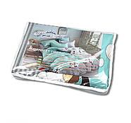 """Двуспальный комплект (Бязь)   Постельное белье от производителя """"Королева Ночи""""   Собаки и звезды на бирюзовом, фото 5"""