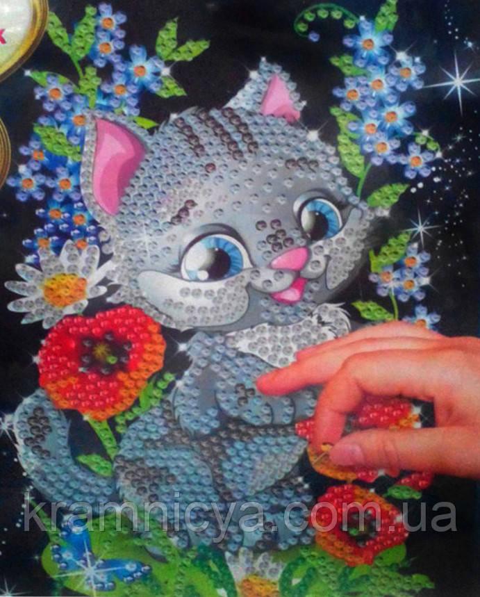 "Картина из пайеток ""Котенок"", Арт. 4746"