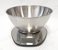 Весы кухонные с металлической чашей MPM, фото 1