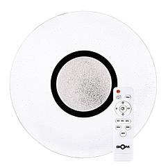 Светильник с пультом Biom Smart LED SML-R07-80 80 Вт 6000 К 6400 Лм СД00705, КОД: 1331128