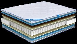 Ортопедический матрас Ultima Sleep Impress Light Cocos 150x190 см 100101, КОД: 1582779