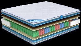 Ортопедический матрас Ultima Sleep Impress 9 Zone Cocos 70x190 см 100128, КОД: 1582804