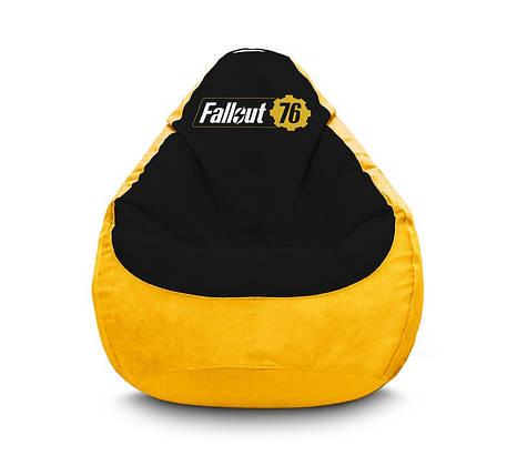 """Кресло мешок """"Fallout 76"""" Флок, фото 2"""