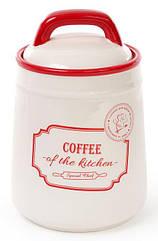 Банка керамическая Bona RedBlue COFFEE 800 мл BD-DM007-Spsg, КОД: 170669