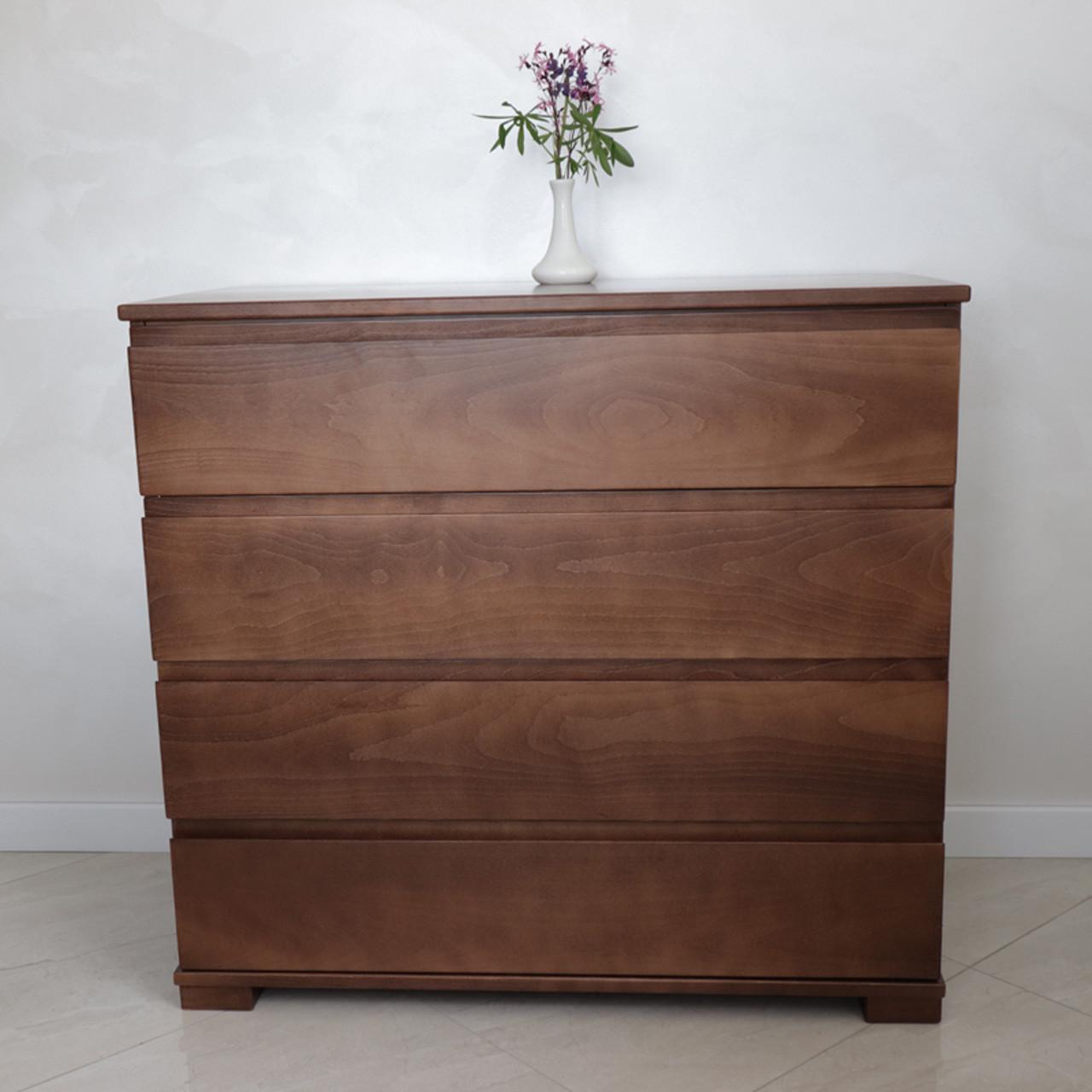 Комод деревянный Бостон (массив бука)