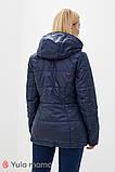 Двусторонняя демисезонная куртка для беременных из плащевки с легким блеском FLOYD OW-30.011, фото 2