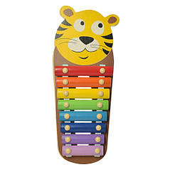 Деревянная игрушка Ксилофон WW-189 Тигр, КОД: 1318265