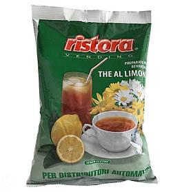 Растворимый черный чай с лимоном Ristora 1 кг 26.003, КОД: 165139