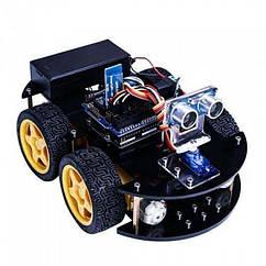 Навчальний набір робототехніки ELEGOO UNO Robot Car Kit V 3.0 машинка-робот на Arduino SUN3964, КОД: 1022414