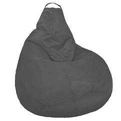 Кресло мешок SOFTLAND Груша стандартный взрослый XL 120х90 см Серый SFLD30, КОД: 1310497