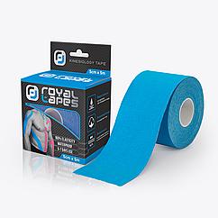 Кинезио тейп Royal Tapes 5 м - 5 см Синий 234544, КОД: 1499502