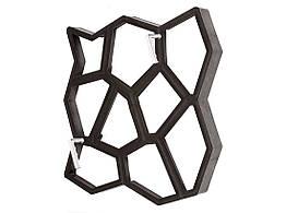 Форма для садової доріжки Hormusend Замковий камінь з ручками 60x60 см d600600601, КОД: 1752963