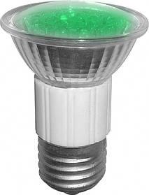 Лампа BUKO led JDR 1.2 Вт 80 Лм E 27 18 leds зелёный 3 шт ЛС01365, КОД: 1711578