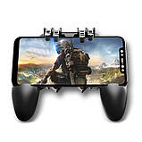 Беспроводной геймпад-триггер для смартфонов Union PUBG Mobile AK66 Черный 002, КОД: 1236153, фото 3