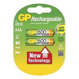 Аккумулятор Gp Rechargeable R03 600 Mah Ni-Mh 213859, КОД: 1368747