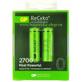 Аккумулятор Gp Reсyko Most Powerful 2700 Mah Aa Ni-Mh 213963, КОД: 1368823