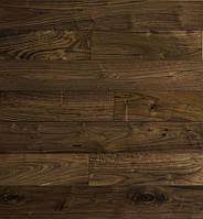 Паркет Brandwood Американский Орех QUEBEC Лак 18х127х500-1200 мм Коричневий QUEBEC1 P, КОД: 1555813
