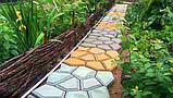 Форма для садовой дорожки Hormusend Замковый камень с ручками 60x60 см d600600601, КОД: 1752963, фото 4