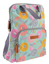 Рюкзак молодіжний YES ST-26 Daisy 9.5 л Бірюзовий 556879, КОД: 1252169