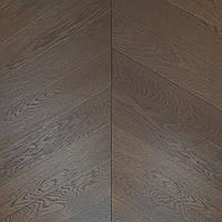 Паркетна дошка Brandwood D85 Дуб 14х90х600 мм Коричневий D85BRUSHChevron90, КОД: 1559152