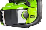 Ланцюгова пила акумуляторна Greenworks 60 V GD60CS40К2  з АКБ і ЗП, фото 6