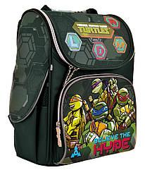 Рюкзак шкільний каркасний 1 Вересня H-11 Tmnt Зелений 556157, КОД: 1247927