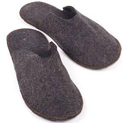 Тапочки Luxyart для дома и бани войлочные 40-46 Серый LS-167, КОД: 1164405