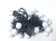 Гирлянда новогодняя светодиодная MHZ шарики LED 40P T4 Multi 008081, КОД: 1701639