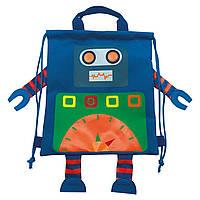 Сумка-мешок детская 1 Вересня SB-13 Robot Разноцветный 556787, КОД: 1259078