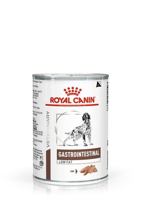 Лечебная консерва для собак Royal Canin Gastrointestinal Low Fat (паштет) 410 грамм